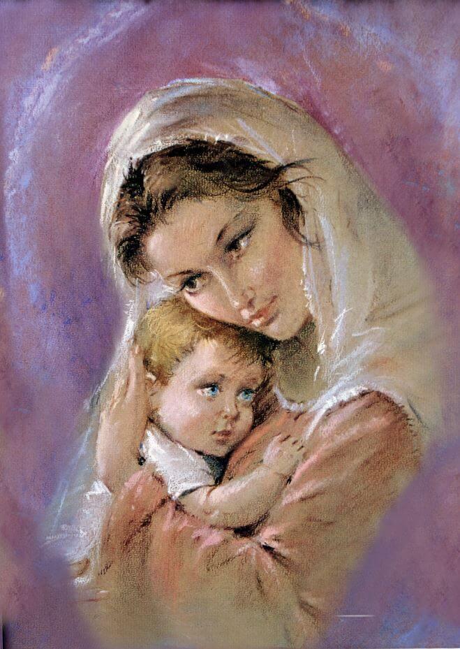 obraz Matka Boska