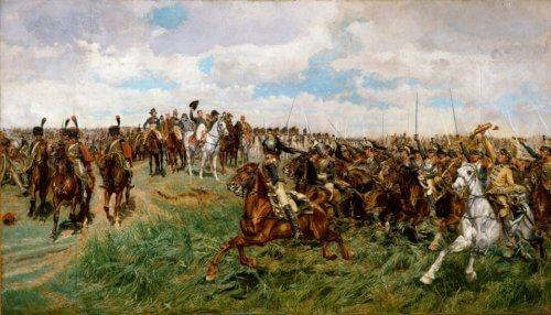 Szarża-Francuskich-Kasjerów-pod-Frydlandem-
