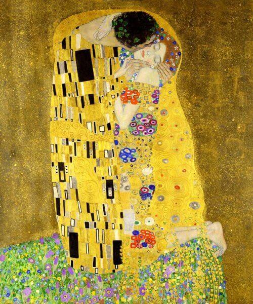 Obraz pocalunek klimt