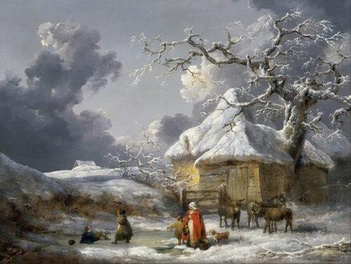 Obraz Zima George Morland