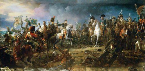 obraz bitwa pod Austerlitz