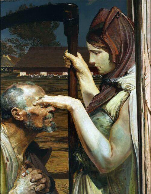 Obraz Śmierć Malczewski