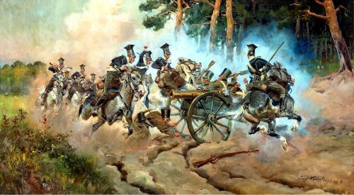 obraz bitwa pod Stoczkiem