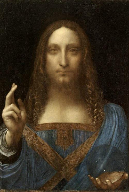 Obraz Zbawicie Świata Vinci