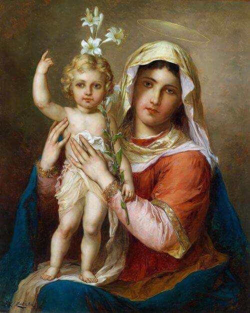 Obraz Madonna z Dzieciątkiem