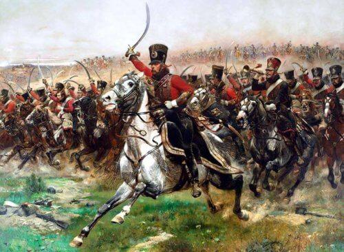 obrazu Vive L'Empereur! (Szarża kawalerii)