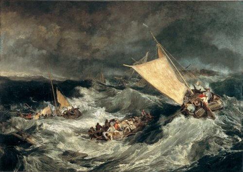 obraz wrak statku