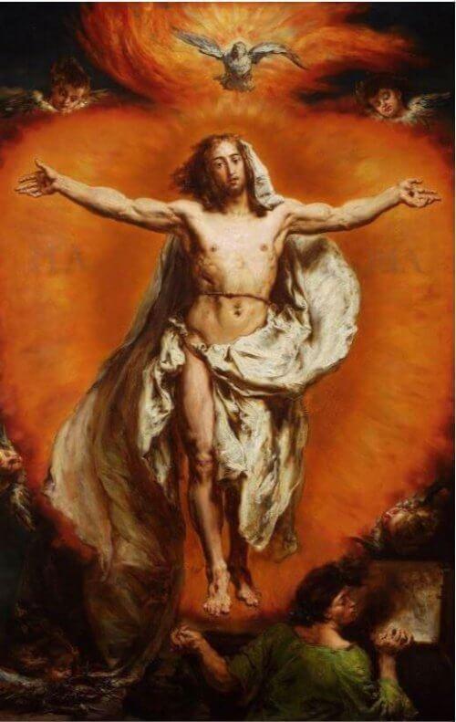 obraz Wniebowstąpienie Jan Matejko