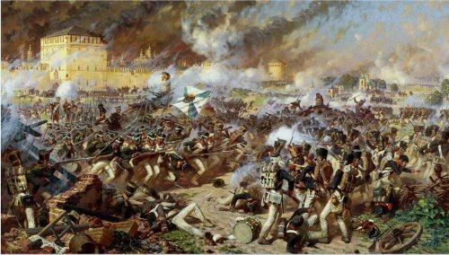 obraz Bitwa Pod Smoleńskiem Alexander Averyanow