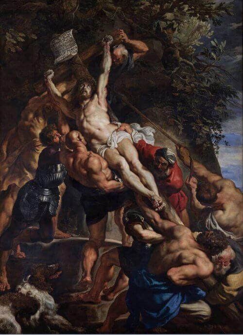 Obraz zdjęcie z krzyża