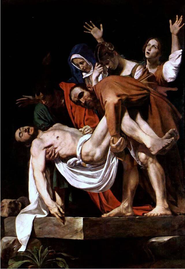 Obraz złożenie do grobu