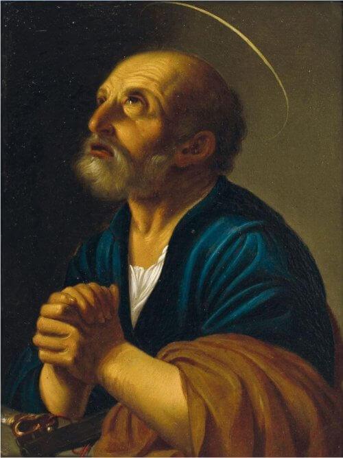 obraz Św. Piotr Carlo Saraceni