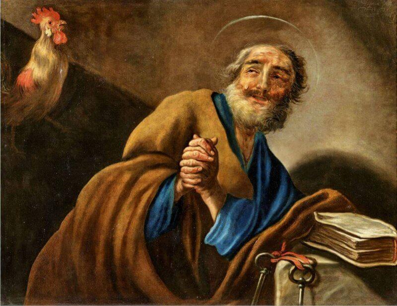Obraz św Piotr vignon