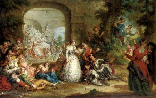 Obraz Roland i Małżeństwo Anioła
