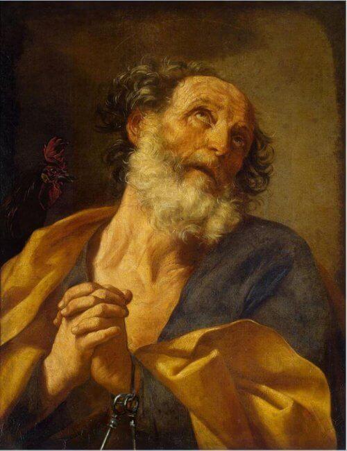 Obraz św. Piotr Guido Reni