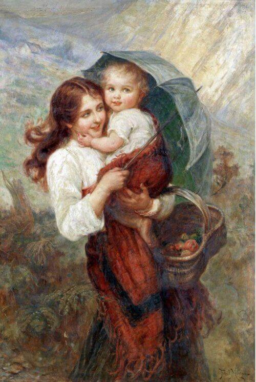 Obraz pod parasolem Morgan