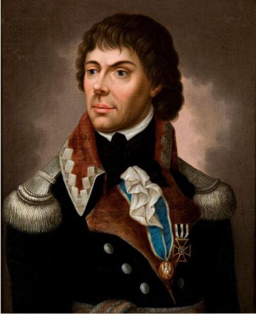 Portret Tadeusza Kosciuszki