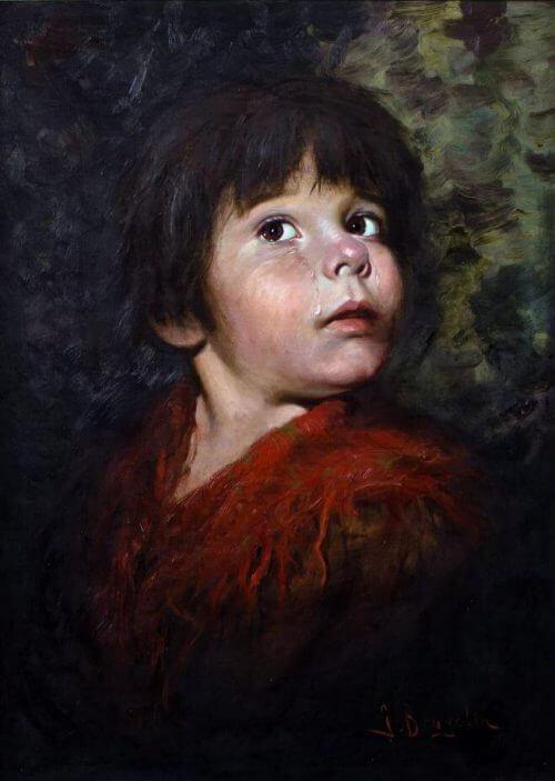 obraz_płaczące_dziecko_Bragolin